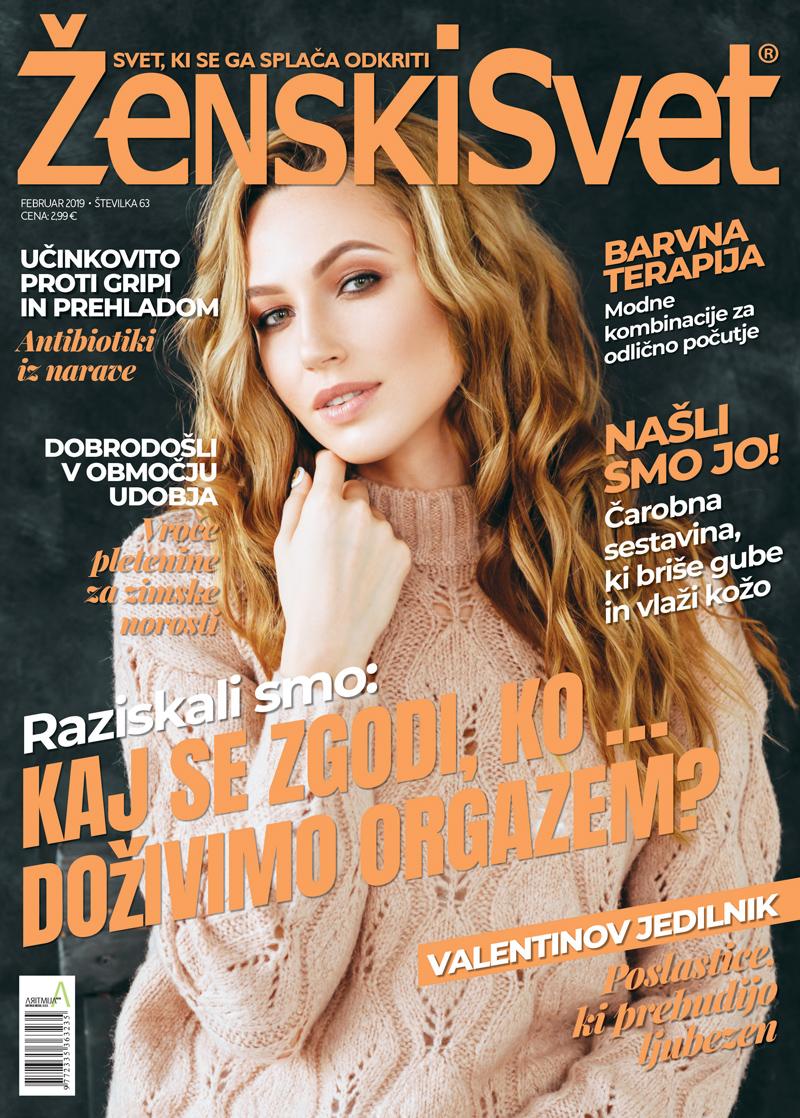 Revija Ženski svet - št. 63 - februar 2019